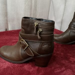 Harley Davidson Leather Ankle Boots 6 M